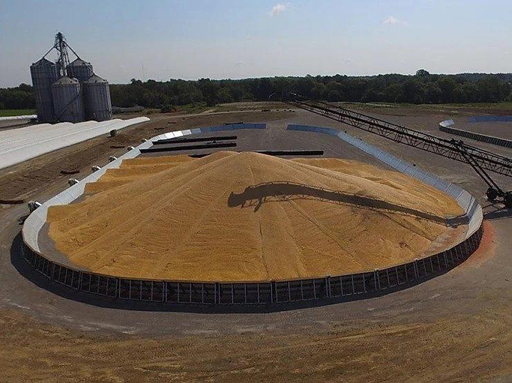 seed grain bunkers